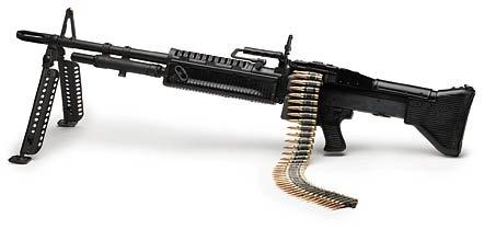 М60 представляет собой автоматическое оружие, построеное по схеме с газовым приводом автоматики и запиранием ствола...